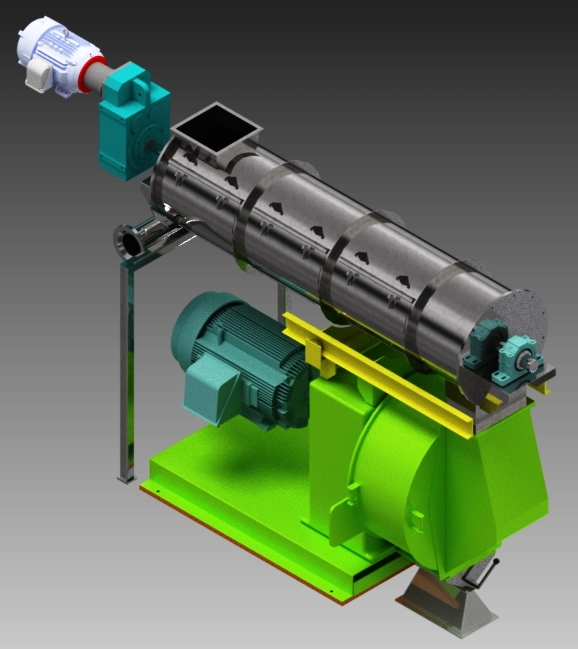 cpm pellet mill 7730  a   design layout amp engineering